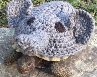 Elephant Fun   Turtle Topper Tortoise Cozy Love