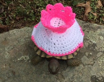 Royal Crown Queen King Prince Princess Turtle Topper Tortoise Cozy