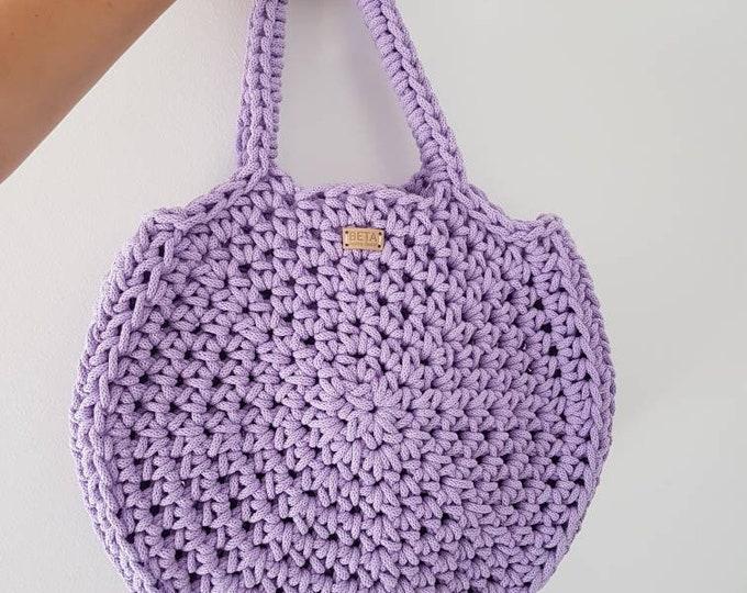 Large round bag