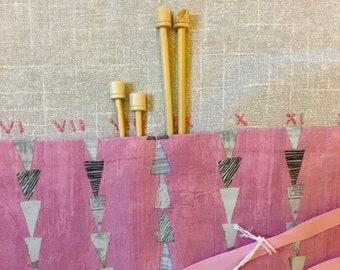 Arrowhead Knitting Needle Case