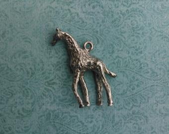Sterling Silver Giraffe Charm