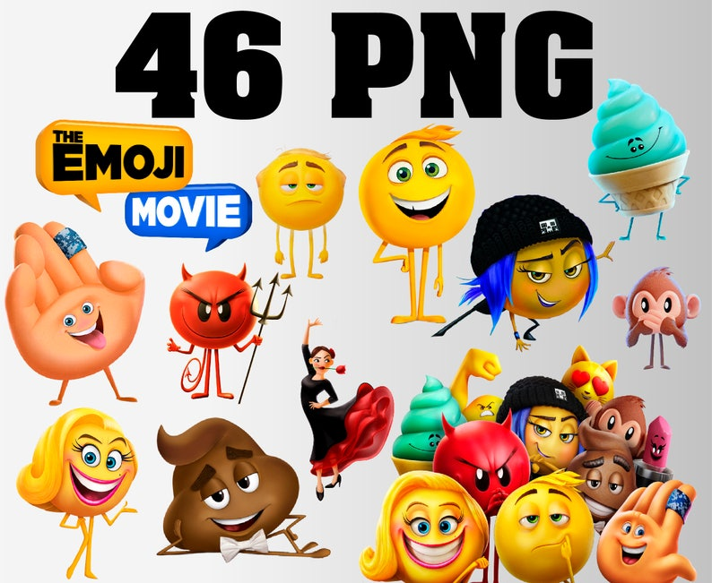 The Emoji Movie Clipart 46 PNG Transparent Background