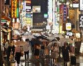 Shinjuku Tokyo, Tokyo Print, City Photography, Tokyo Photography, Tokyo Poster, Tokyo Gallery Wall Prints, Japanese Restaurant Decor, Decor