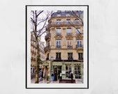 Laduree Paris Champs Elysees Poster, Paris Photography Print, Paris Wall Art, Paris Print, Paris Decor, Laduree Paris Gift, Paris Poster