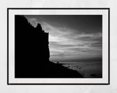 Greenan Castle Ayrshire, Castle Print, Scotland Print, Sunset Print, Scotland Photography, Living Room Wall Print, Gallery Wall Prints