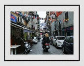 Naples Italy Photography Print, Naples Photography, Street Photography, Europe Photography, Italy Photography, Naples Poster, Wall Art, Gift