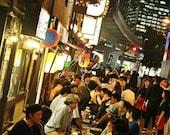 Yurakucho Tokyo Print, Tokyo Photography, Japanese Restaurant Decor, Tokyo Poster, Tokyo Wall Art, City Photography, Gallery Wall Prints
