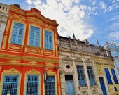 Salvador Brazil, Extra Large Photo, Colonial Architecture, Baroque Architecture, Salvador Photo, Salvador Print, Architecture Prints, Bahia