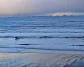 Surfer At Aberdeen Beach Photography Print