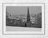 Queen's Park Glasgow Photography Print, Glasgow South Side, Winter Photography, Snow Print, Glasgow Print, Glasgow Gift, Glasgow Poster