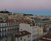 Marseille Skyline Photography Print Poster