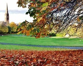 Queen's Park Glasgow, Glasgow in Autumn Picture, Glasgow Photography, Glasgow South Side, Glasgow Gift, Glasgow Skyline, Autumn Photography