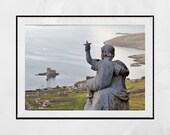 Isle of Barra Scotland Photography Print, Our Lady of the Sea and Heaval, Outer Hebrides Picture, Barra Photo, Landscape Photography, Gift