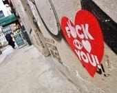 Street Art Print, Street Art Graffiti, New York Street Art, Lower East Side New York Print, Street Art Poster, Urban Prints, Graffiti Print