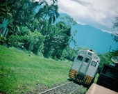 Apartment Gift, Serra Verde Express Photo, Morretes Brazil Photo, Train Print, Jungle Train Photo, Train Gift, Serra Verde Express Print