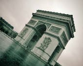 Arc de Triomphe Paris Poster Photography Print