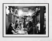 Seoul Korea Photography, Seoul Poster, Korea Poster, Korea Gift, Korean Restaurant Decor, Seoul Photography Print, Seoul Print, Noksapyeong