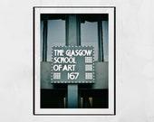 Glasgow School Of Art Charles Rennie Mackintosh Poster Print