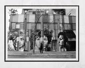 27 Club Print, Street Art Print, Amy Winehouse Print, New York Street Art, Eduardo Kobra Mural, Gift For Music Lover, Black And White Print