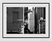 Tribeca New York Photography Print, Tribeca Wall Art, New York Print, New York Poster, Street Photography, Living Room Wall Print, Decor