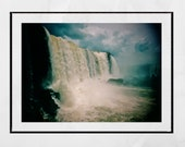 Iguazu Falls Photography Print, Waterfall Photography, Waterfall Print, Iguazu Falls Picture, Nature Photography, Home Decor Wall Art, Gift
