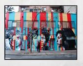27 Club Print, Amy Winehouse Print, Street Art Print, New York Street Art, Eduardo Kobra Mural, Jim Morrison Print, Gift For Music Lover