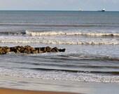 Aberdeen Beach Scotland Photography Print