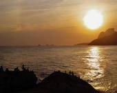 Arpoador Print, Arpoador Photo, Rio De Janeiro Print, Rio De Janeiro Photo, Brazil Photography, Sunset Print, Sunset Photo, Rio Photography