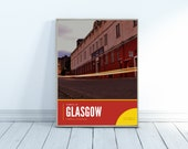 Partick Thistle Photography Poster
