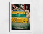 Selaron Steps Rio de Janeiro, Rio De Janeiro Wall Art, Rio De Janeiro Poster, Escadaria Selarón, Rio De Janeiro Photography Print, Gift