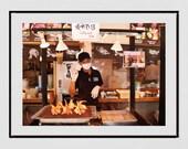 Tokyo Photography, Tsukiji Fish Market Tokyo Photo, Tokyo Print, Tokyo Poster, Seafood Restaurant Decor, Japanese Restaurant Decor, Wall Art