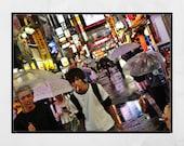 Tokyo Photography Print, Shinjuku Poster, Tokyo In The Rain, Tokyo Print, Japan Photography, Tokyo Poster, Tokyo Wall Art, Tokyo Gift, Decor