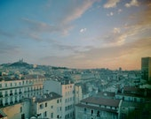 Marseille Skyline Photography Print
