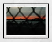 New York Photography Print, Red Hook Brooklyn Print, Statue Of Liberty Print, Urban Photography, Hipster Wall Art, New York Poster, Decor
