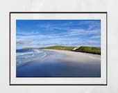Isle of Barra Beach Scotland Outer Hebrides Photography Print