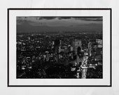 Tokyo Photography Print, Tokyo Night Photography, Tokyo Skyline, Tokyo Print, City Photography, City Print, Home Decor Wall Art, Wall Print
