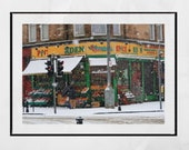 Pollokshields Glasgow Photography Print, Albert Drive Glasgow, Glasgow Photography, Winter Photography, Snow Photography, City Print