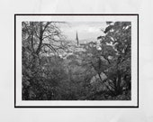 Queen's Park Glasgow, Glasgow Photography, Glasgow South Side, Glasgow Print, Glasgow Poster, Glasgow Wall Art, Autumn Photography, Fall