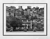 Salvador de Bahia Poster, Favela Poster, Salvador Brazil Photo, Salvador Bahia Photo, Favela Brazil, Favela Photography, Brazil Photography