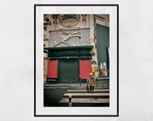 Montmartre Paris Print, Montmartre Print, Montmartre Wall Art, Montmartre Poster, Street Photography, Living Room Wall Print, Apartment Gift