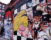 Street Art Print, New York Street Art, Lower East Side New York Print, Street Art Poster, Street Art Graffiti, Urban Prints, Graffiti Print