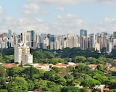 Apartment Gift, Extra Large Wall Art, Sao Paulo Gift, Sao Paulo Skyline, City Skyline, City Photography, Sao Paulo Photo, City Photo, Decor