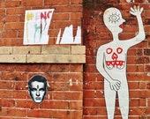 Street Art Print, Street Art Poster, Street Art Graffiti, Urban Prints, New York Street Art, Lower East Side New York Print, Graffiti Print