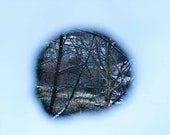 Winter Photography Print In Kelvingrove Park Glasgow