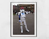Scottish Independence Poster, Yes Scotland Poster, George Square Glasgow, Stormtrooper Glasgow, Scotland Gift, Scottish Independence Gift