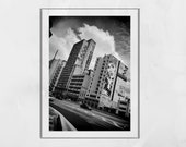 Sao Paulo Poster, Sao Paulo Photography, Urban Photography, City Photography, Graffiti Poster, Street Photography, Black And White Print
