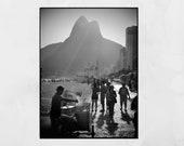 Ipanema Beach Print, Rio De Janeiro Print, Ipanema Print, Ipanema Poster, Rio De Janeiro Photography, Rio De Janeiro Poster, Decor Wall Art