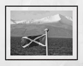 Scotland Photography, Saltire Flag, Arran Scotland, Scotland Saltire Poster, Scotland Poster, Scotland Gift, Scotland Wall Art, Scottish