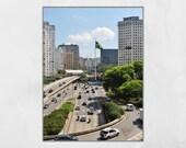 Sao Paulo Photography Print, Sao Paulo Poster, Urban Photography, City Photography, Urban Wall Art, Sao Paulo Gift, Sao Paulo Photography