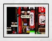 Tokyo Photography, Shibuya Tokyo, City Photography, Tokyo Print, Tokyo Poster, Tokyo Wall Art, Japan Photography, Japanese Restaurant Decor
